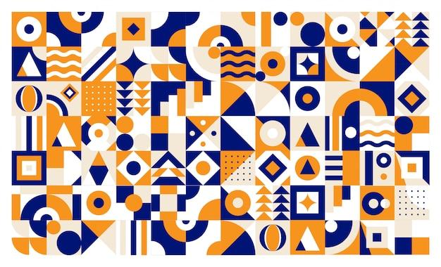 カラフルな幾何学の背景