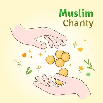 イスラム教徒の慈善