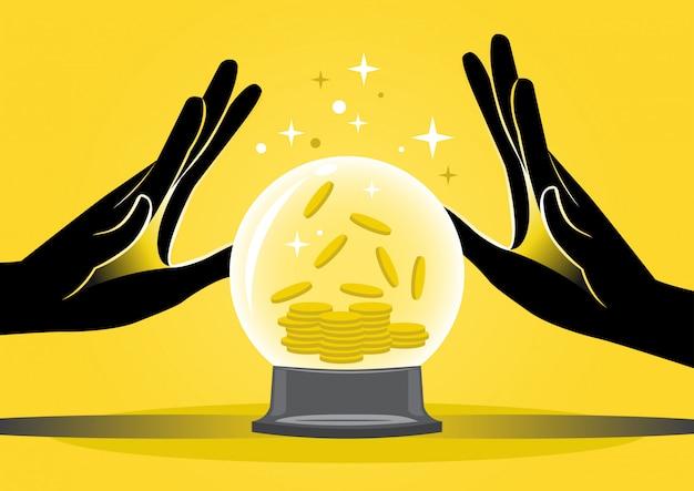 占い師と金貨