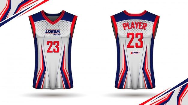 クリエイティブバスケットボールシャツデザイン