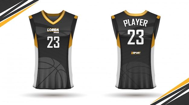Креативный дизайн баскетбольной рубашки