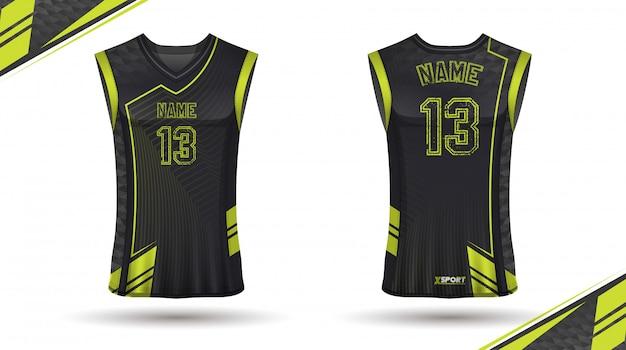 Баскетбольная рубашка дизайн