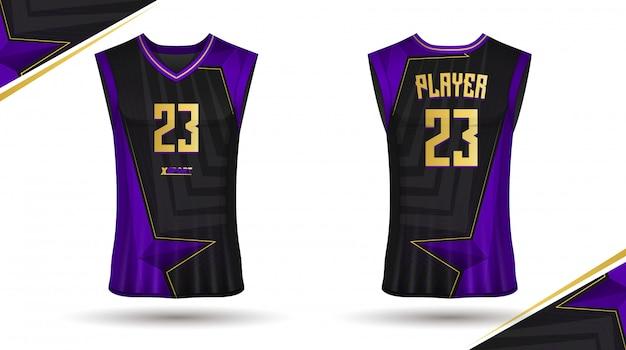 バスケットボールシャツデザイン
