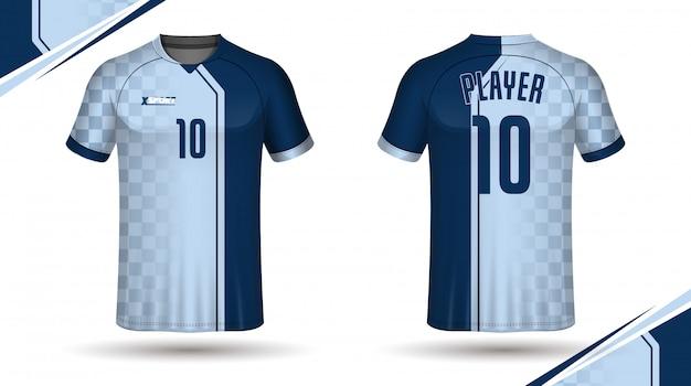 サッカーシャツテンプレート