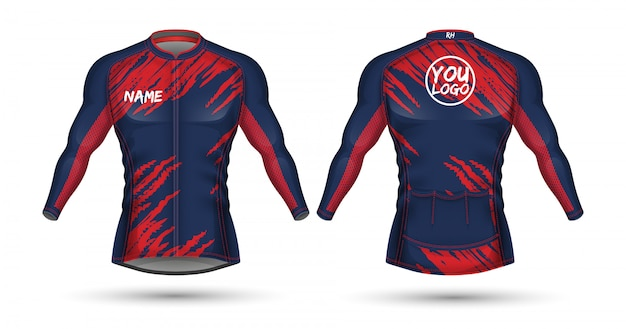 Велоспорт джерси дизайн рубашки