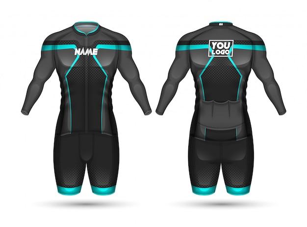 サイクルジャージーシャツデザイン