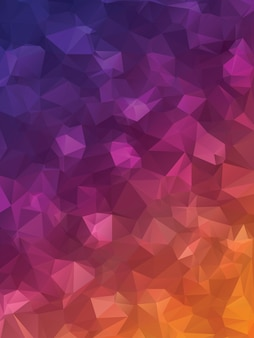 紫色の三角形
