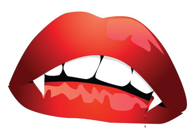 吸血鬼の口