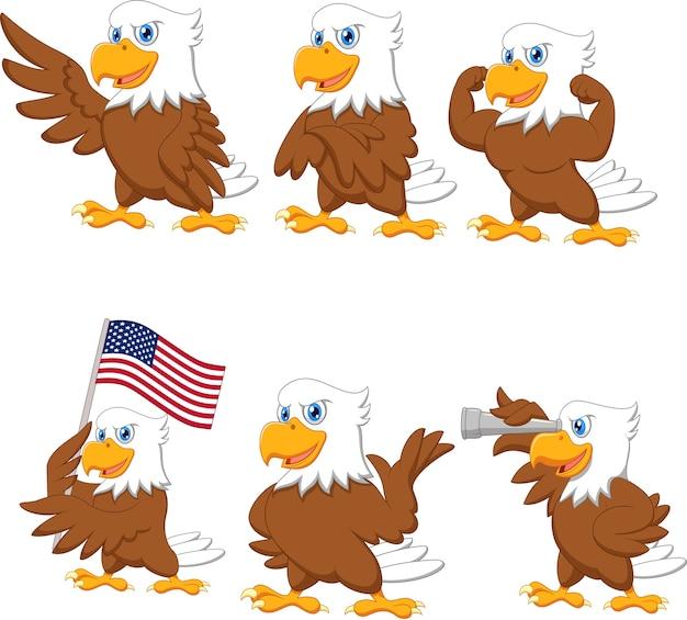 Набор мультфильмов орлов