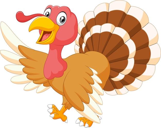 感謝祭七面鳥の動物のマスコット