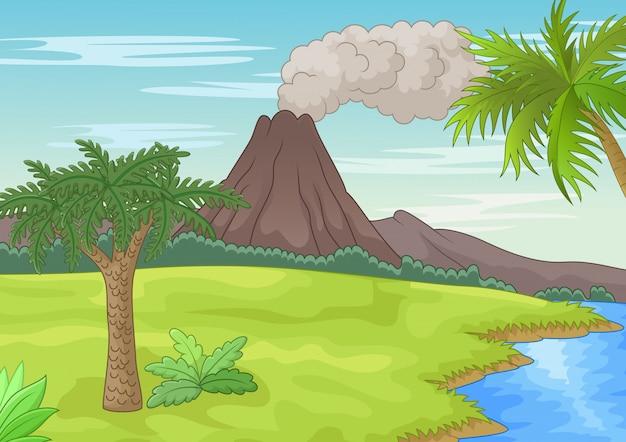 先史時代の風景