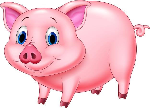 漫画の豚キャラクター