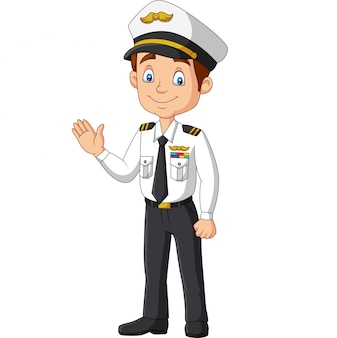 手を振って漫画幸せなキャプテン