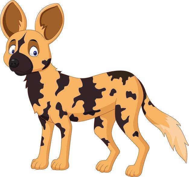 漫画アフリカの野生の犬