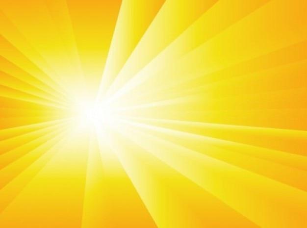 放射状の太陽の光の背景