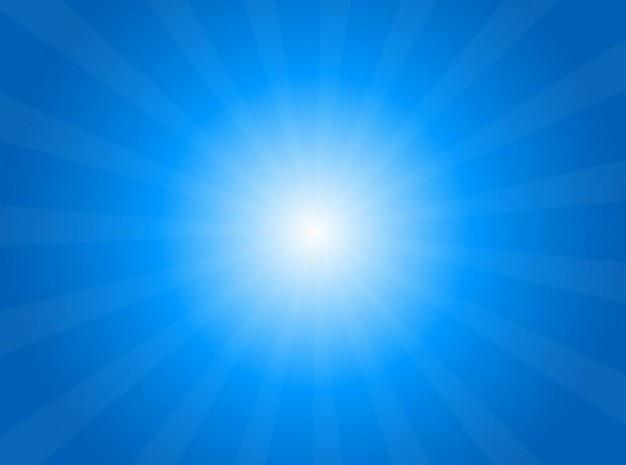 梁の空を背景に明るい光