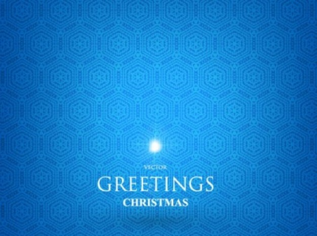 Синий шаблон для приветствия рождество