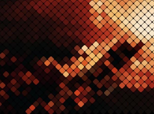 抽象的なトレンド色のネオンの背景ベクトルセット