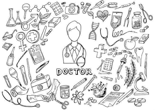 ヘルスケア、薬品、背景。