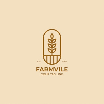 Логотип урожая