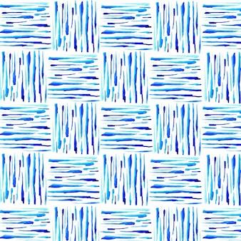 Акварельный шаблон с обычным плетением
