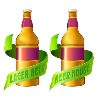 Шаблон логотипа паб напиток.