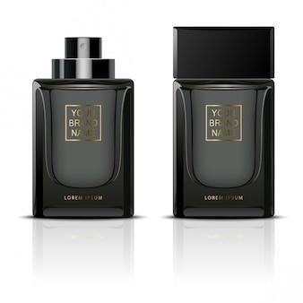 ブラック香水容器