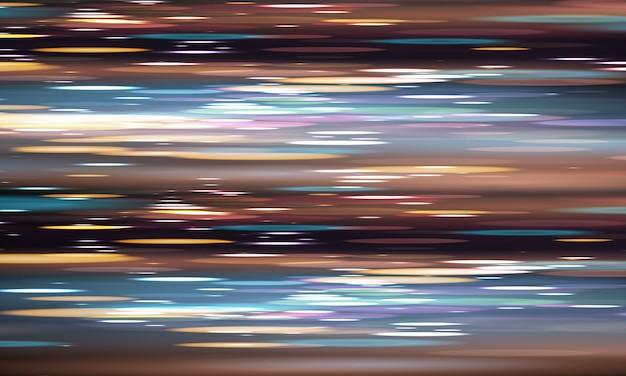 カバー装飾背景に使用できる抽象的な速度ぼやけた光要素