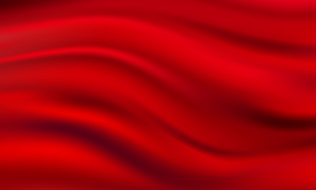 抽象的なグラデーション生地赤