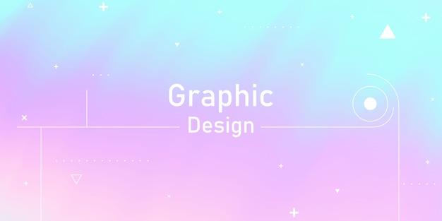 あなたのグラフィックの抽象的なパステルレインボーグラデーション背景エコロジーコンセプト