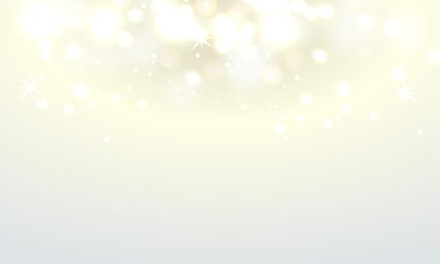 柔らかい光の背景を持つ抽象ボケライト