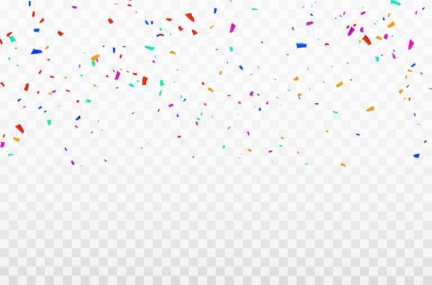 お祝い紙吹雪リボンフレーム。