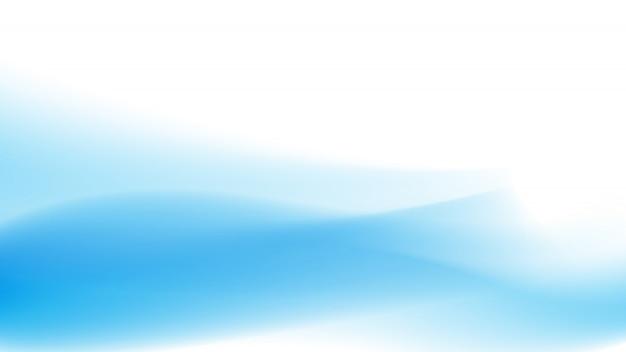 ブルーウェーブの抽象的な背景