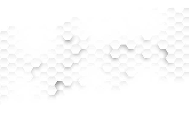 六角形のコンセプトデザインの抽象的な技術