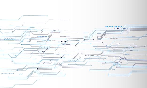 抽象的な技術コミュニケーション概念のベクトルの背景