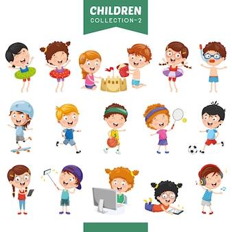 Иллюстрация мультфильмов дети