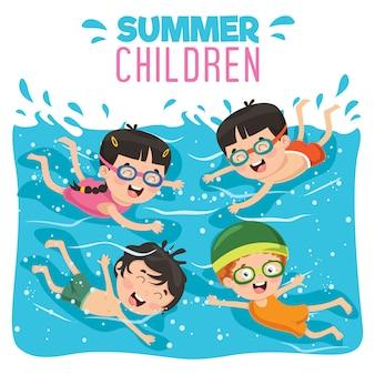夏の子供たち