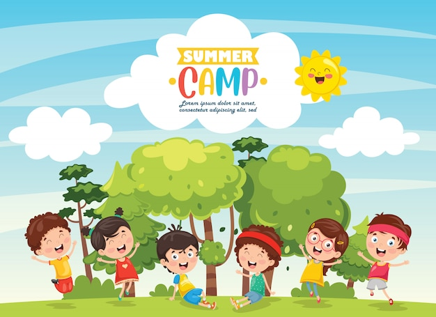 Детский летний лагерь