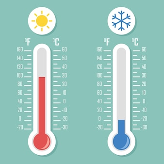 温度スケール | 無料のアイコン