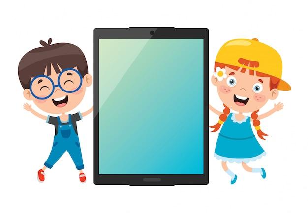 デジタルデバイスの使用の概念