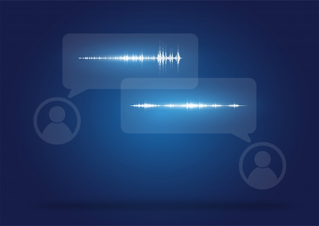 オーディオフォーマットの通信