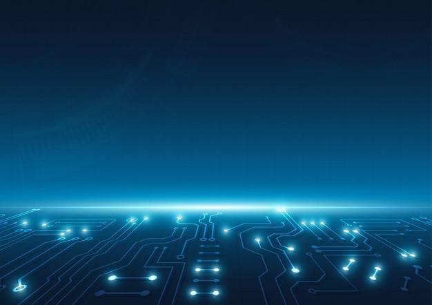 Высокотехнологичные технологии геометрического фона