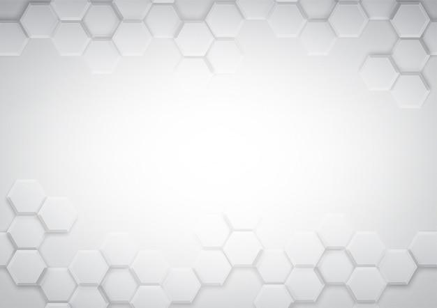 Узор шестиугольника фон абстрактный и геометрические обои с крышкой веб-формы