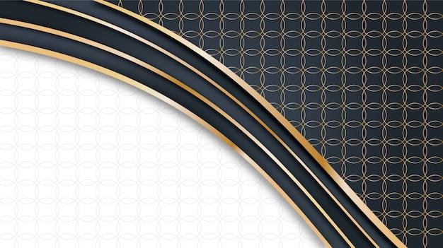 金の形の背景デザイン