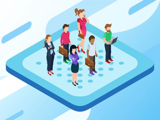 Некоторые люди или рынок или группа клиентов, стоящие где-то рядом, чтобы получить от компании