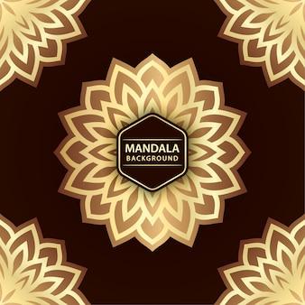 エレガントな曼荼羅の背景