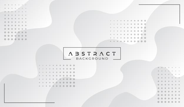 Современный абстрактный белый фон