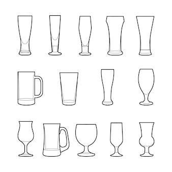 クラフトビールガラス