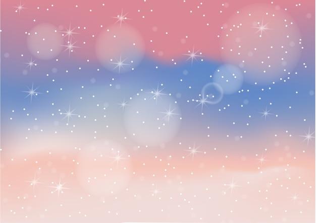 Пастельный цветной абстрактный фон с боке