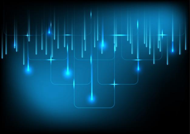 Абстрактный фон цифровых технологий